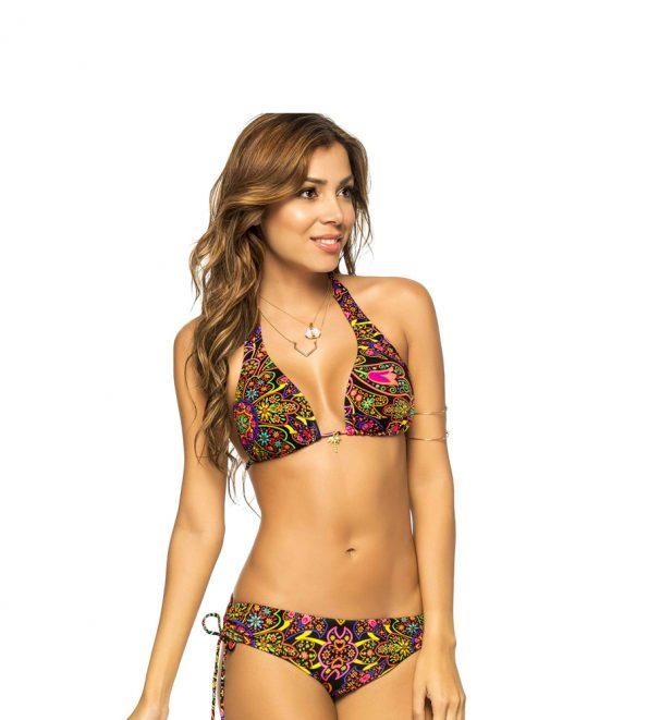 Phax Mandala Night Halterneck Bikini Set