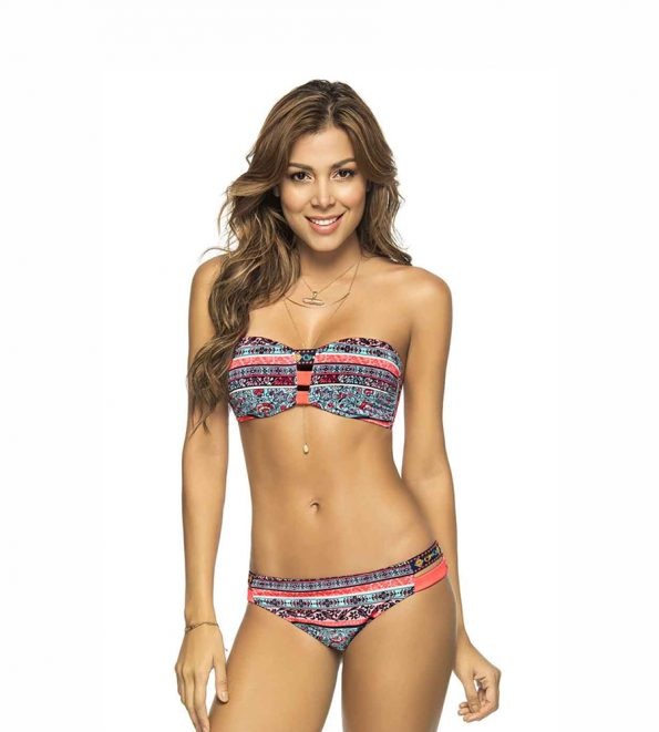 Phax Bandeau Bikini Mojito Breeze Set
