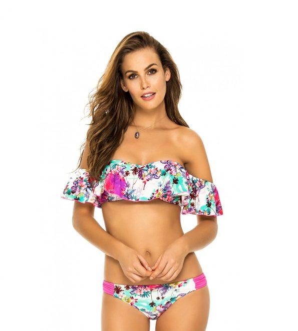 Phax Azores Off The Shoulder Bikini Set