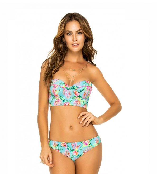Phax Bora Bora Crop Top Bandeau Bikini Set